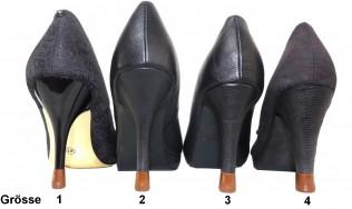 4 PAAR-4 Grössen-Braun