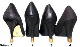 4 PAAR - 4 Grössen - Gold