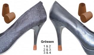 2 PAAR-2 Grössen-Braun